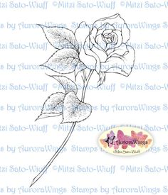 Hey, I found this really awesome Etsy listing at https://www.etsy.com/listing/173201925/digital-stamp-single-stem-rose-digistamp