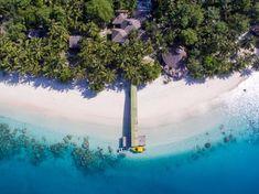 Visit Aloita Resort & Spa for your next holiday in the Mentawai Islands. Best Resorts, Vacation Resorts, Hotels And Resorts, Aloita Resort, Jimbaran Bali, Spa Prices, Komodo Island, Underwater World, Ubud