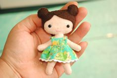 felt doll pattern More