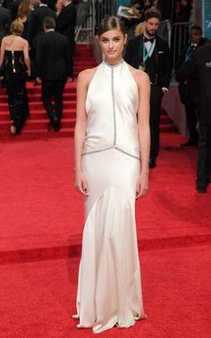 Taylor Hill at the 2017 BAFTAs