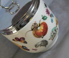 Maxime Sized Egg Coddler 'Skippity Tale' by Royal Worcester. Rare and Collectable. c1960s. by AtticBazaar on Etsy