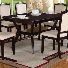 Samaria Solid Wood 7 Piece Dining Collection Pinterest Woods And Country Living