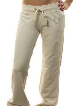 "True Religion Women's ""Lonestar Marissa"" Sweatpants Cream White-Large True Religion. $84.97. Drawstring closure. Cotton Blends. Save 21%!"