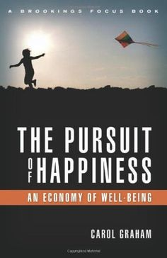 The Pursuit of Happiness: An Economy of Well-Being (Brookings Focus) by Carol L. Graham. $22.74. Series - Brookings Focus. Publisher: Brookings Institution Press; 1st edition, edition (June 26, 2011). Publication: June 26, 2011. 160 pages
