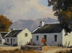 Wooden Houses, Farm Houses, Fishermans Cottage, Cape Dutch, African House, Art Oil, Oil Paintings, West Coast, Art Lessons