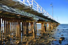This photo from Queensland, East is titled 'Shorncliffe Pier'. Queensland Australia, South Australia, Western Australia, Saint Helena Island, St Helena, Tasmania, Brisbane, Places To See, Exploring