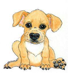 Custom Pet Portrait from Photos Single Animal by CaricatureShoppe, $25.00