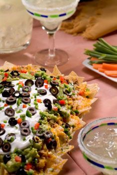 Entertaining with Wholly Guacamole & Salsa Nachos recipe
