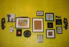 gallery wall style (http://feathersfreesiasandfishingtackle.blogspot.com)