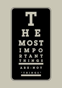 Coni Della Vedova Print - The Most Important Things