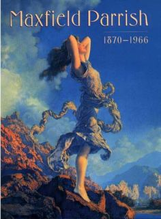 Maxfield Parrish catalogue published by Harry N. Abrams, Inc. in association with the Pennsylvania Academy of Fine Arts, 1999. Softcover, 160 pages, 9 x 12""