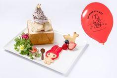 「マイメロディ カフェ」が名古屋パルコに! Nagoya, Sweets, Japanese, Christmas Ornaments, Holiday Decor, Ethnic Recipes, Food, Gourmet, Meal