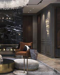 Лучшие интерьеры Studia 54 - портфолио - Modern Home Designs Luxury Homes Interior, Luxury Home Decor, Luxury Interior Design, Interior Architecture, Classic Interior, Luxurious Bedrooms, Living Room Interior, Luxury Living, Living Room Designs