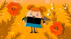 Gentil Coquelicot Kids Songs, Tweety, Pikachu, Fictional Characters, Children, Little Children, French Songs, Nursery Rhymes, Poppies