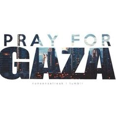 pray for gaza