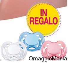 """Ciuccio succhietto omaggio con la rivista """"Io e il mio bambino"""" - http://www.omaggiomania.com/omaggi-con-acquisto/ciuccio-succhietto-omaggio-la-rivista-il-bambino/"""