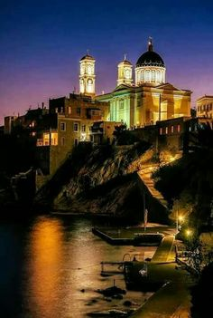 Ermoupolis, Syros island, Cyclades, Greece Syros Greece, Greece Islands, Greece Travel, Athens, Old Photos, Beautiful Places, Greek, Country, Photography