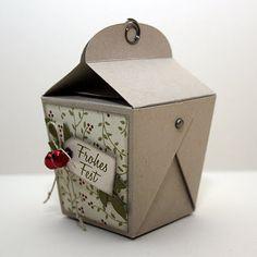 Kleine Box - mit Vorlage