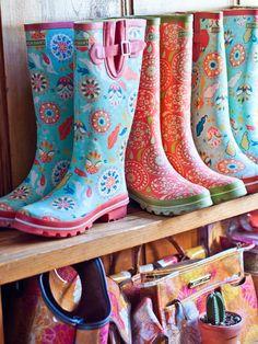 Jessica Swift rain boots