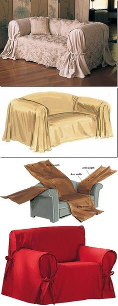 - A cover on a sofa the hands Furniture Covers, Furniture Makeover, Handmade Furniture, Diy Furniture, Reupholster Furniture, Couch Covers, Diy Décoration, Shabby Chic Decor, Soft Furnishings