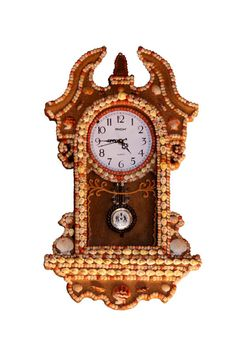 Shop online for Seashells & Sea Sand Clock. Make your home distinctive with a drop of beauty of Indian ocean. Clock Decor, Wall Decor, Shell Art, Seashells, Decorative Items, Art Pieces, House Styles, Modern, Home Decor
