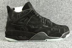 1.Artist KAWS will be working together with Jordan Brand to release a collaboration for Spring 2017 that includes the Air Jordan 4.  2.The KAWS x Air Jordan 4 features a full Cool Grey premium suede upper that has some texturing to it for a unique look.   Other details include co-branded heel tabs, a nubuck/suede midsole, waxed laces, and an icy translucent glow-in-the-dark outsole with KAWS graphics. | Shop this product here: spree.to/b588 | Shop all of our products at…