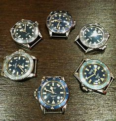 Tudor Subs for the Marine Nationale Tudor Submariner, Rolex Submariner, Dream Watches, Sport Watches, Antique Watches, Vintage Watches, Fancy Clock, Rolex Tudor, Fashion Watches