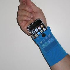 different armband.  i think i'd like this way better than the others that are available.