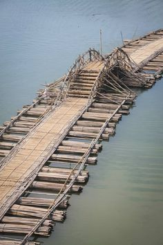 The amazing bamboo bridge in Sangkhlaburi where our volunteer building project takes place.