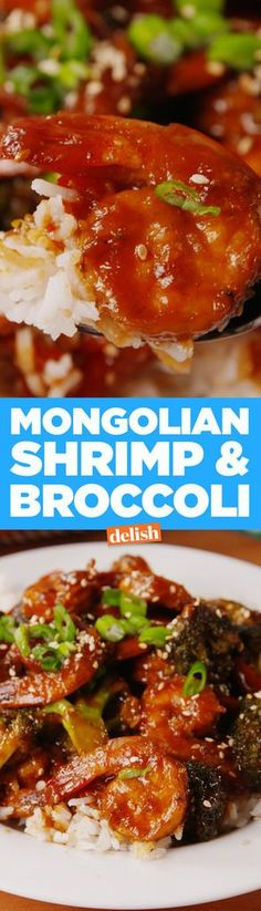 Mongolian Shrimp & Broccoli there needs to be a few keto substitutes to make this. READ first to plan what is needed.
