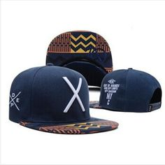 deep blue fashion baseball snapback hats and caps for men