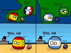 YAY am saved ========================================= Credits to: @ ========================================= Tags: . Poland Country, North Korea, Funny Comics, Great Britain, Movies To Watch, Family Guy, History, Memes, Hetalia
