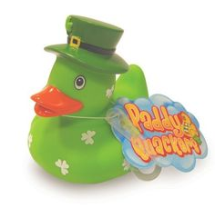 Paddy Quackers Bath Toys - Green with White Shamrocks by Paddy Quackers, http://www.amazon.co.uk/gp/product/B00B0WV5OW/ref=cm_sw_r_pi_alp_hk7lrb19B0JFW