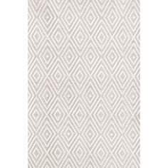 Add a hint of elegance and sophistication in your home with the Dash and Albert Rugs Diamond Taupe & White Indoor/Outdoor Area Rug. This handmade area rug...