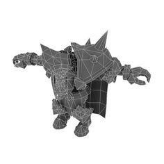 Low Poly Skeleton King – Bitgem