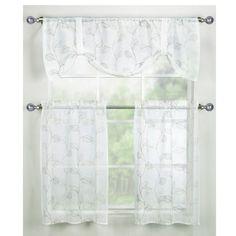 Corsica Window Curtain Tiers - Bed Bath & Beyond