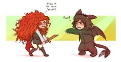 Haha me & Hiccup playing. I played tha soldier thet defeats tha dragon, and he plays tha sarcastic dragon.