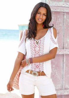 Купить женскую футболку недорого в интернет-магазине QUELLE
