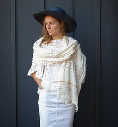 Heather Taylor's Handmade Scarves Are Delightfully Down to Earth | style file | Style.com