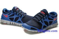 on sale c182d 20243 Verkaufen billig Schuhe Damen Nike Free 3.0 V3 (Farbe vamp,innen-blau,logo-rot Sohle-weiB)  in Deutschland.