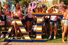 Delta Gamma at Arizona State University #DeltaGamma #DG #BidDay #letters #sorority #ASU