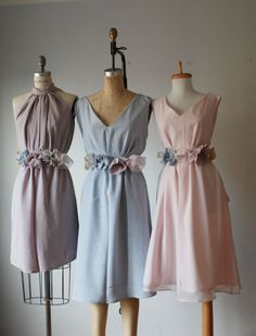 nicht übereinstimmende Brautjungfer Kleider / von AtelierSignature, $99.99