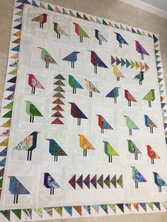 Visit our niche site for even more with regard to this unique photo Quilting Projects, Quilting Designs, Bird Quilt Blocks, Vogel Quilt, Quilt Modernen, Quilt Border, Animal Quilts, Fabric Birds, Scrappy Quilts