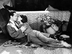 Norma Shearer and Robert Montgomery in PRIVATE LIVES ('31)