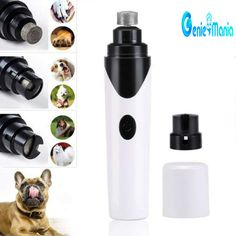 Portable Puppy Dog Cat Care Grooming Electric Pet Dog Nail on Pet Supplies 7100 Dog Nail Clippers, Dog Nails, Usb, Trim Nails, Pet Paws, Grooming Kit, Powder Nails, You Nailed It, Dogs And Puppies