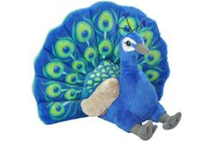 Peacock Stuffed Animal - 12 image