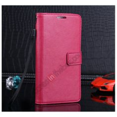 Luxury Leather Stand Wallet Card Slot Case For Samsung Galaxy Note 3 N9000 - Rose US$11.69