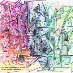 Lisa Travis Geometric#01 | Make It In Design