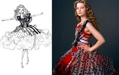 Dianfitrah: Costume Design Nominees Alice in Wonderland