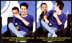 Dylan O'Brien and Zachary Levi